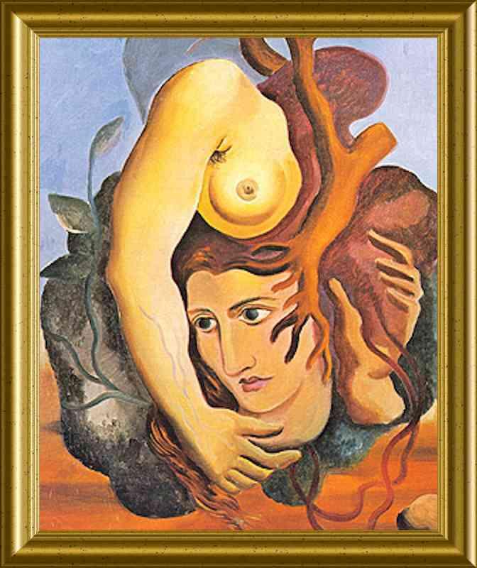 Ismael Nery. Composizione surrealista